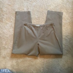 Eileen Fisher khaki colored pants